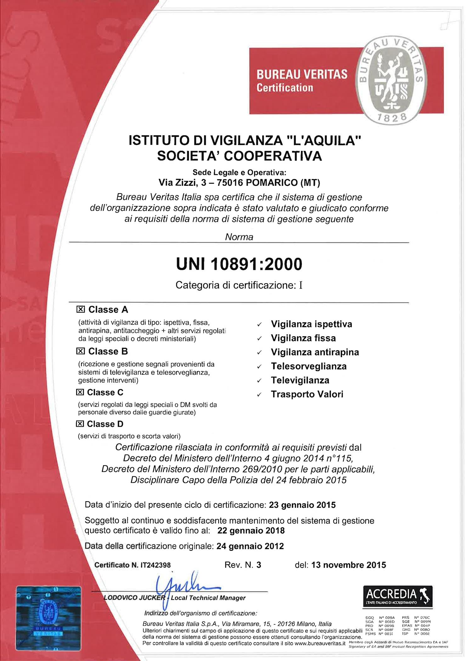 Certificato UNI 10891 adeguato DM269_001